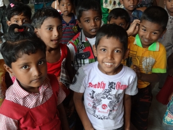 Kindergartenkinder in Sri Lanka