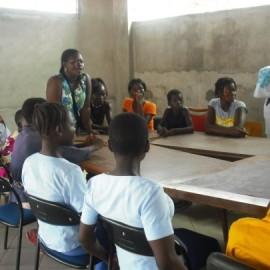 Mädchen im Unternehmerinnenkurs