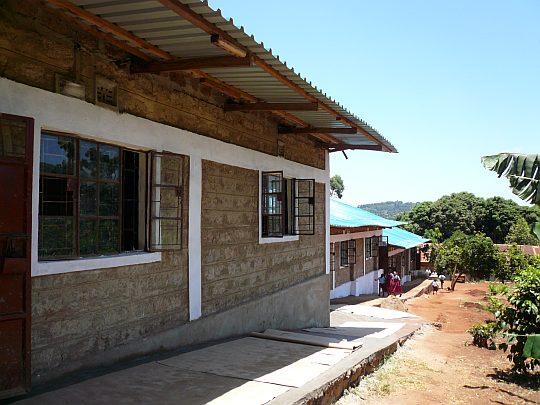 Neues Schulgebäude in Kangundo