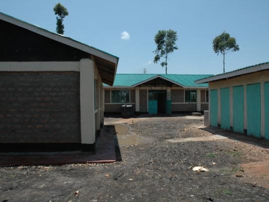 Neubauten auf dem Schulgelände