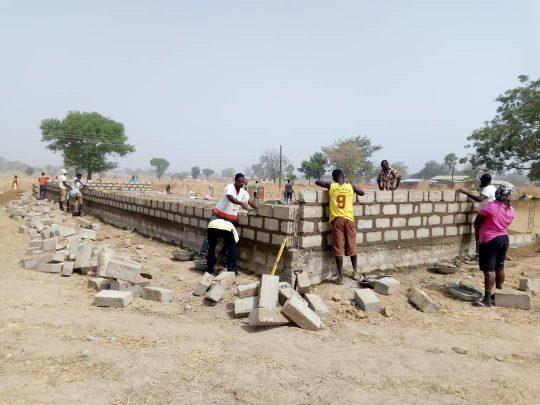 Bauarbeiten an der Grundschule