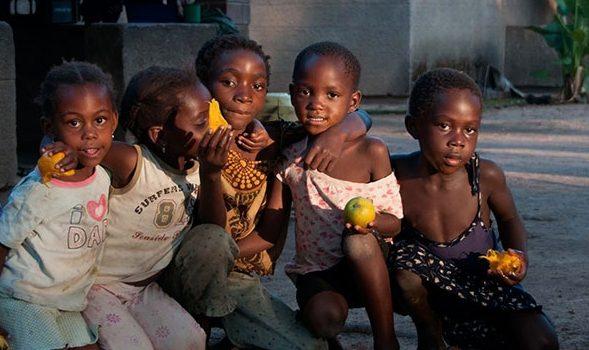 Kinder in Chimfunshi