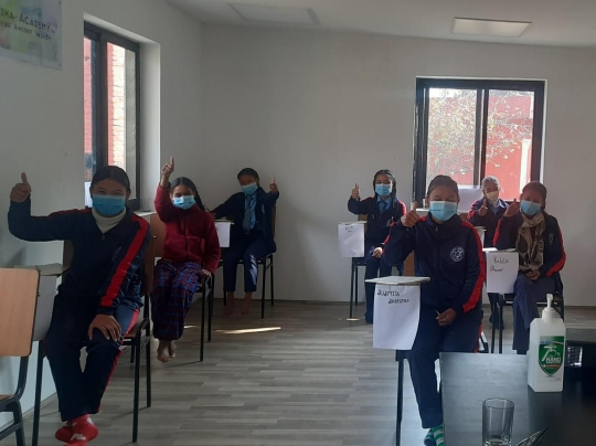 Mädchen in der Akasha Academy