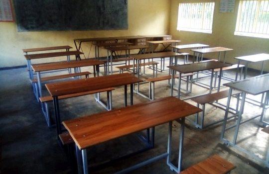 Neue Tische für Chimfunshi
